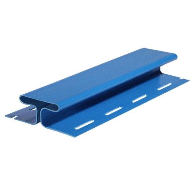 Н-профиль FineBer Classic, синий, 3,05 м